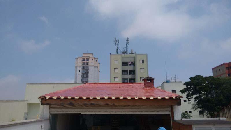 Impermeabilização de telhado com manta líquida