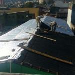 Impermeabilização de telhado com manta