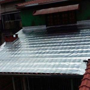 Impermeabilização telhado galvanizado